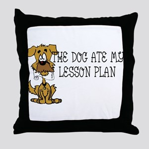 lesson Throw Pillow